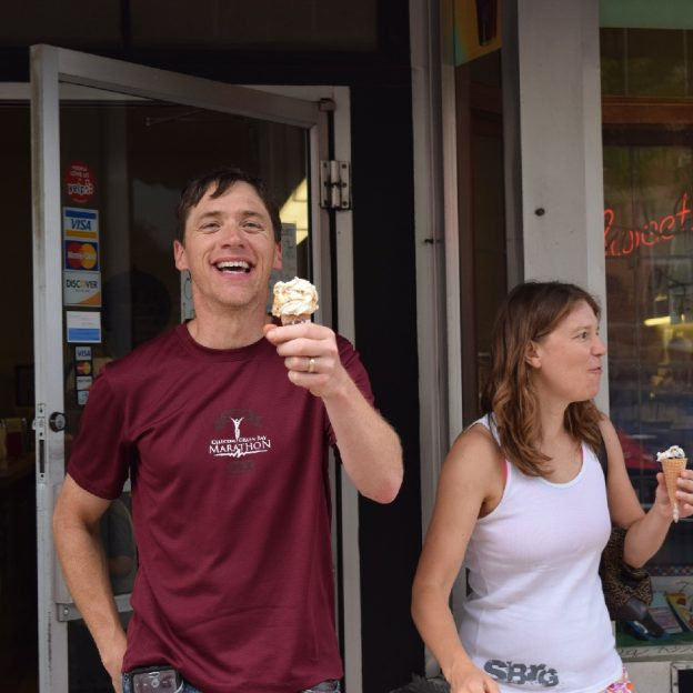 Its Ice Cream Smiles Sunday! So pump up the tires and plan your #NextBikeAdventure with a stop at your favorite ice cream shop.