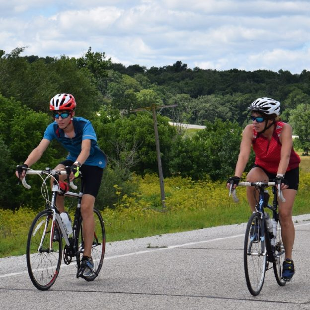 Still a couple spots open for the Root River Bluff & Valley ride next weekend.