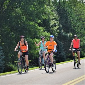 As a cyclist or a safer driver you become aware of what drivers of both bikes and cars are doing and learn how to keep yourself safe - observe and practice.