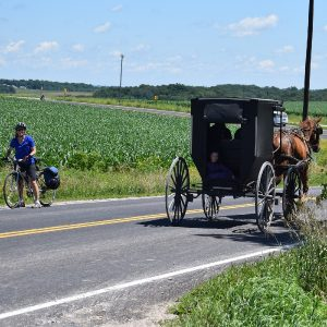 Fun biking in Southeast Minnesota's Amish Country on the Root River Bluff & Valley Bike Tour.