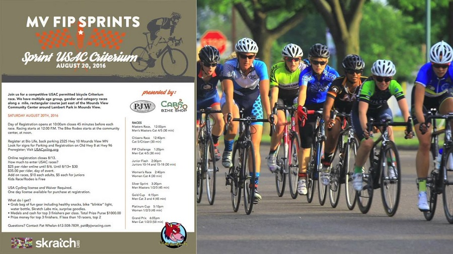 The annual festal also offers a youth bike rodeo and a USA Cycling Criterium Race.