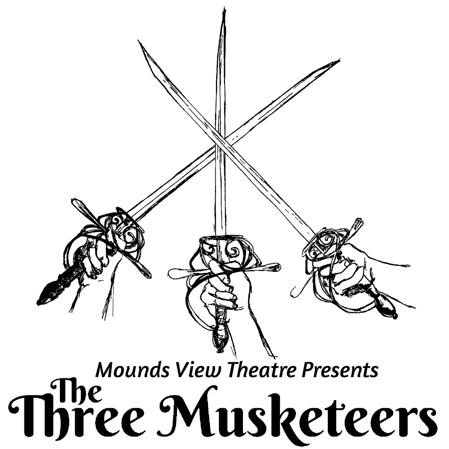 The exciting Three Musketeers is just on of the many productions presented at the Mounds View Theater.