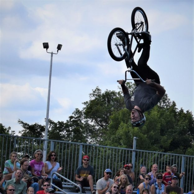 It's Friday and time to ride off for a weekend of fun on that next bike adventure. If you are going to the Minnesota State Fair, check out the following.