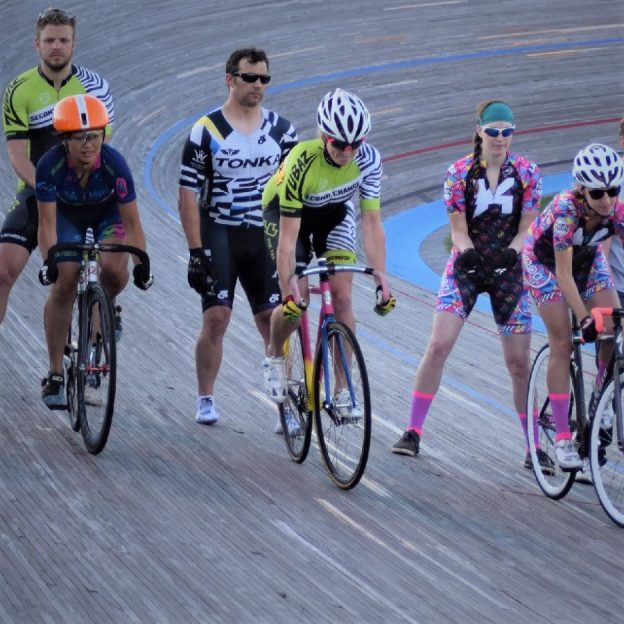 And the are off! With a track racing event to night, at the National Sports Center Velodrome, in Blaine, MN you will want to come out before the last race September 14th.