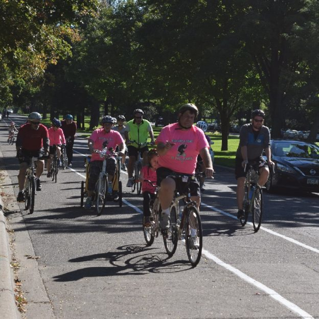 Join the 'Ride Like a Bear' crew at the St Paul Classic Bike Tour