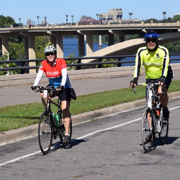 Another fun day to ride the Minnesota section of the Mississippi River Trail (MRT) on this picture perfect Thursday in August.