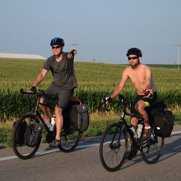 With summer temps in the upper Midwest, have fun with family and friends on that next bike adventure.
