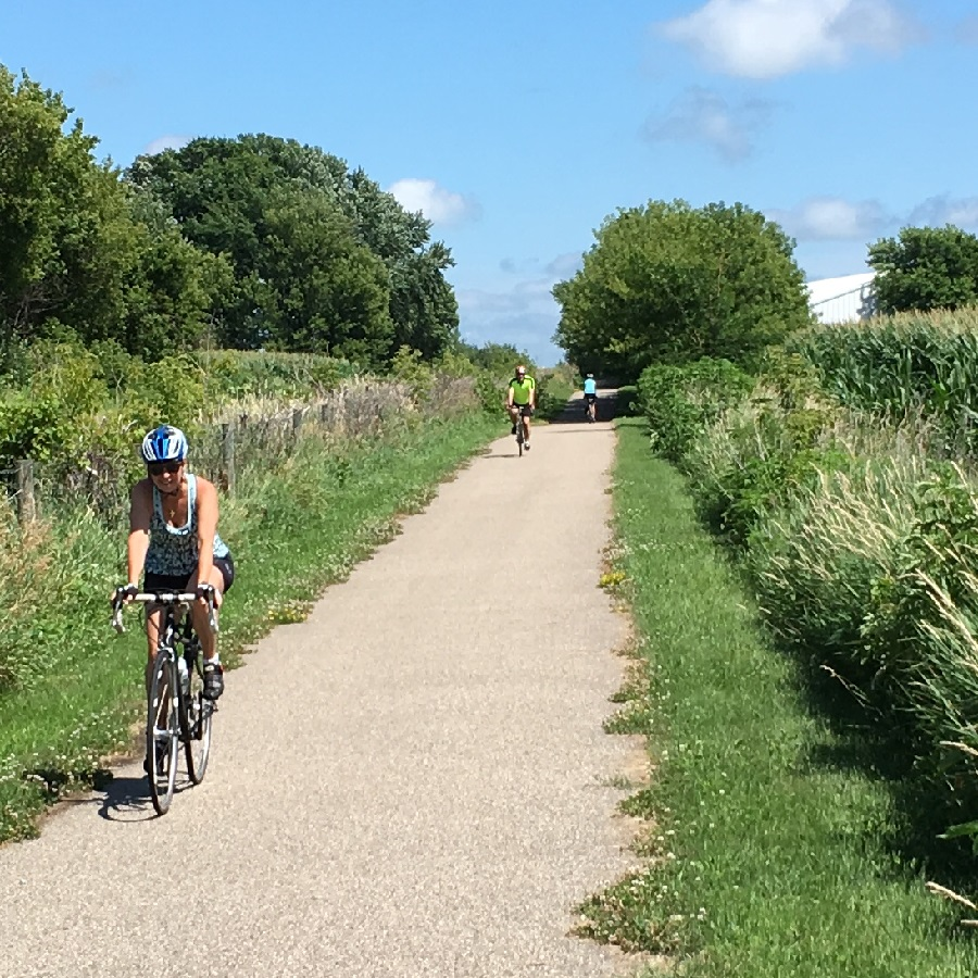 Enjoy the miles of scenic paved trails in the prairie lands of the Willmar Lakes Area.