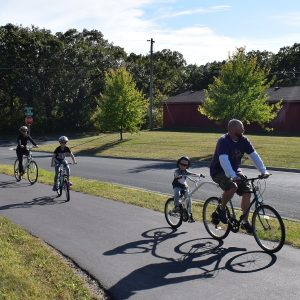 Biking around Hastings new 10-mile Scenic Circuit loop describes the route that follows along both the Mississippi and Vermilion rivers for all ages and skill levels