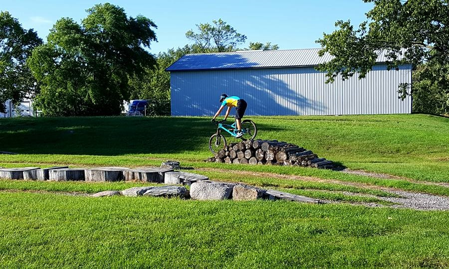 Tartan Park is located in Hutchinson and is a skills park that is perfect for beginners to advanced mountain bikers.