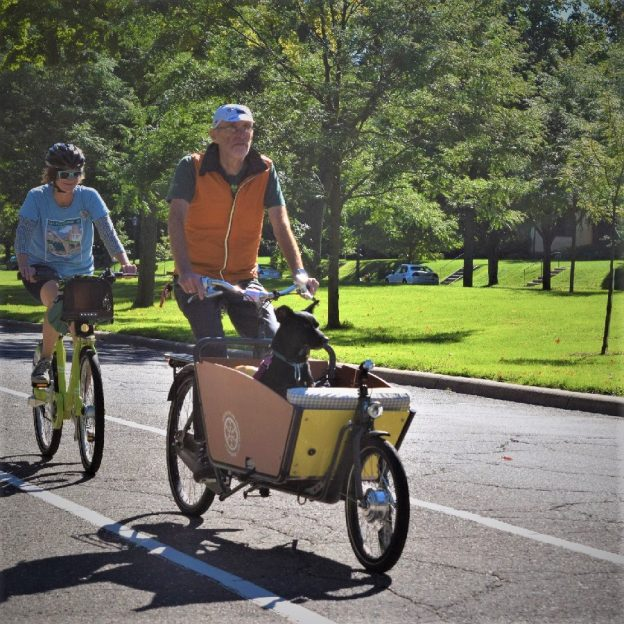 The Saint Paul Classic Bike Tour, in its 23rd year, spotlights several of the scenic parks and parkways St Paul with rover riding along.