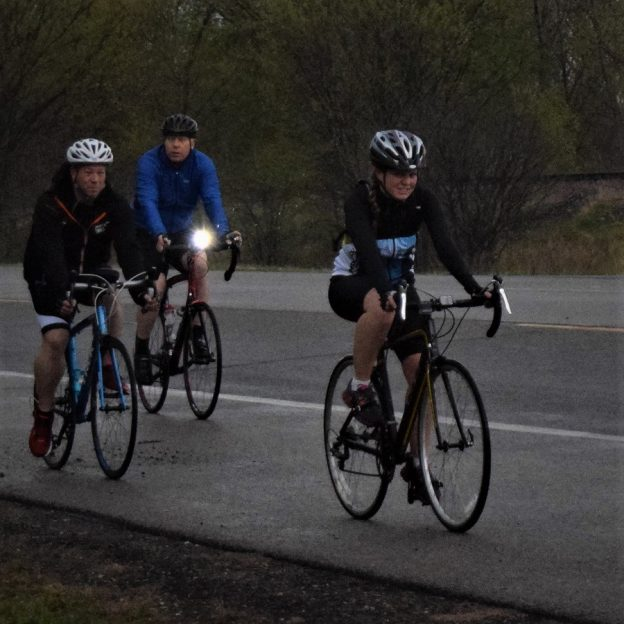 Visibility is key to safe bike ride as the days become shorter.