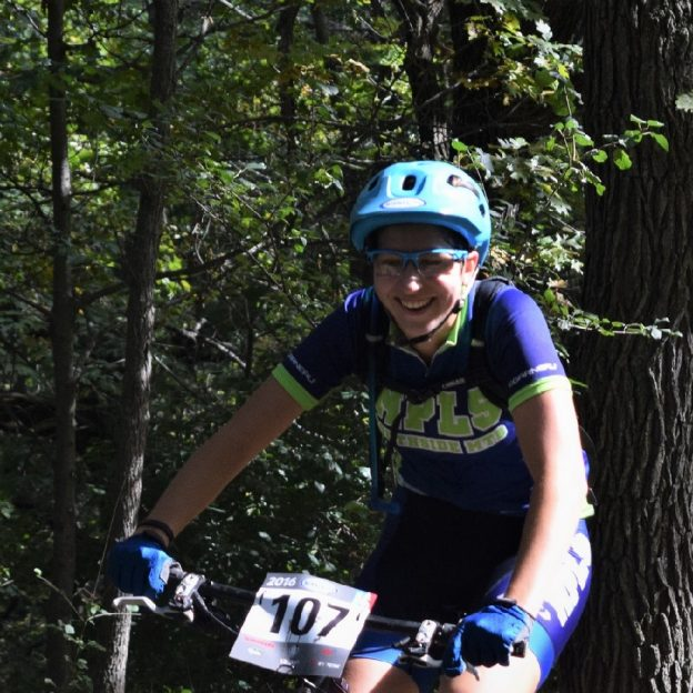 Having fun preparing for the Minnesota High School Cycling Leagues, State Championship, to be held on Mt. Kato, in Mankato, MN,