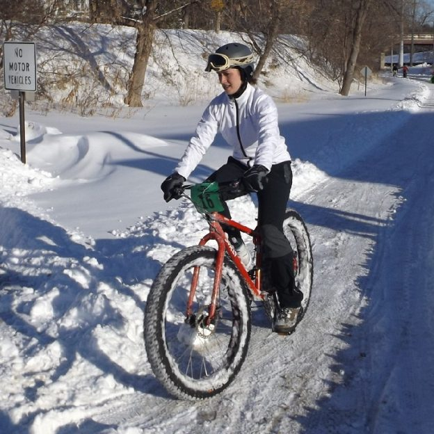 While we cant stop the cold from hitting soon, get out and discover how fun it is to fatbike.