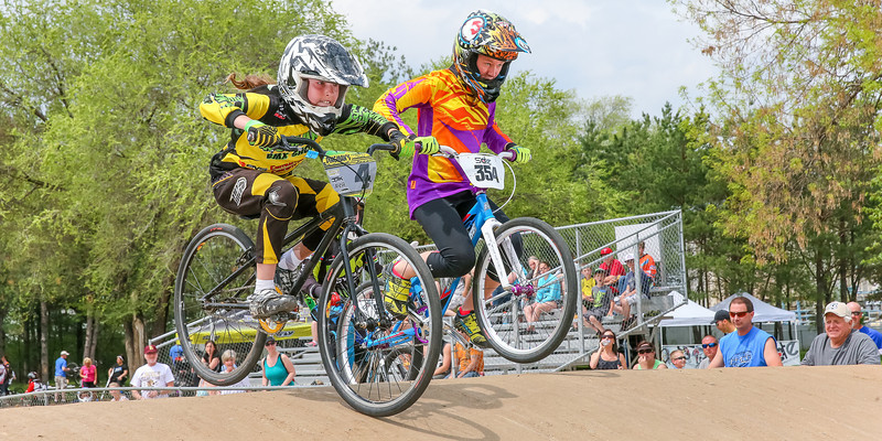 Freestyle cycling fun at Pineview BMX