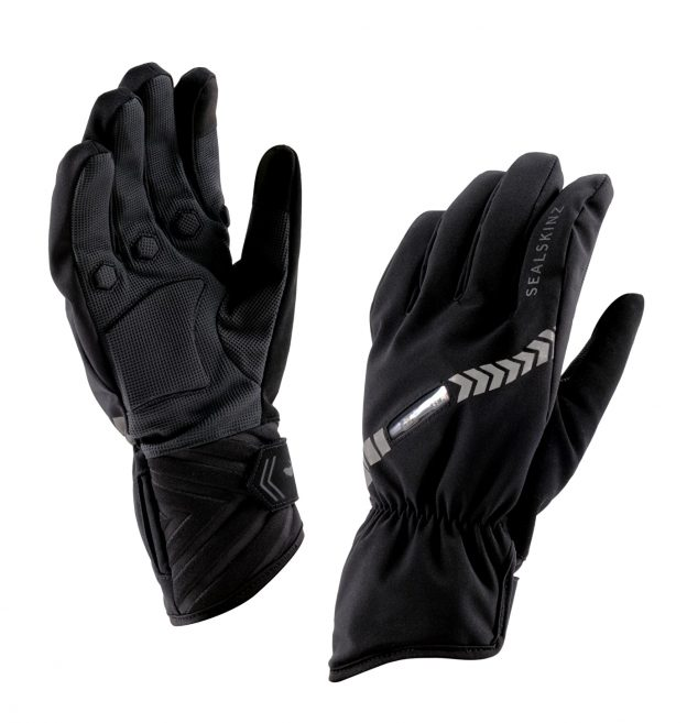 Sealskinz' has evolved their product line to include the Halo Bike Glove.See what makes these gloves interesting for winter rides.