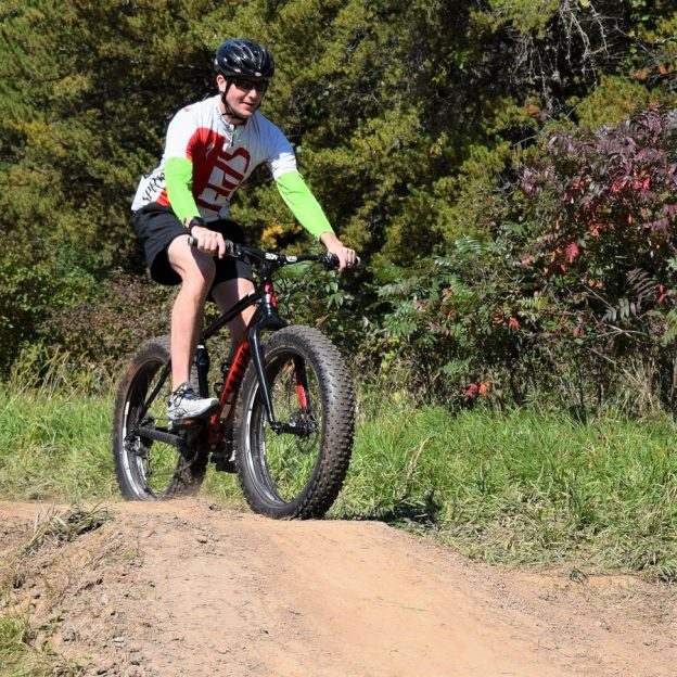 A perfect day to get out on the mountain bike trail, burn some calories while testing your fat bike legs.