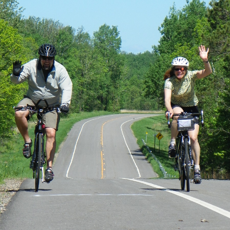 Picture yourself riding the Mississippi River Trail (MRT) through the wilds of Minnesota, pedaling America's famous 3,000 mile bike system
