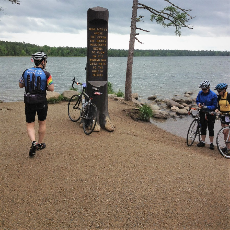 At the Headwaters of the Mississippi River in Itasca State Park
