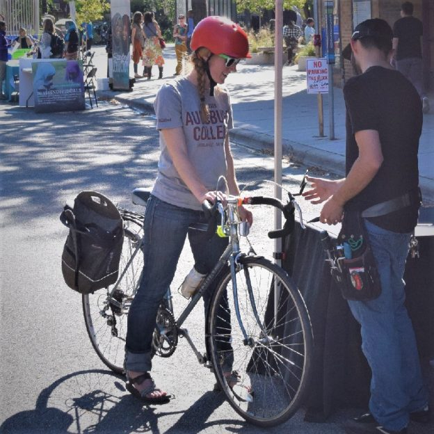 I have seen many people put off using a commuter bike because they felt they didn't have the right bicycle, not realizing it was already in their garage.