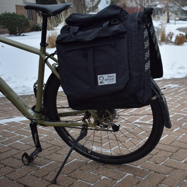 The Classic Garment Pannier is a practical bag for all your gear.