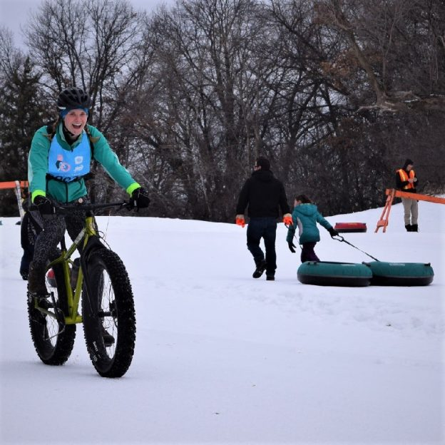 With warmer weather predicted in the days ahead, for winter fun jump on a fatty, a tube or go for hike to burn off a few of those holiday calories.