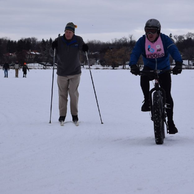 With warmer weather predicted in a day or so, its time to get the bike, skis or walking boots our for some winter fun here in the upper Midwest.