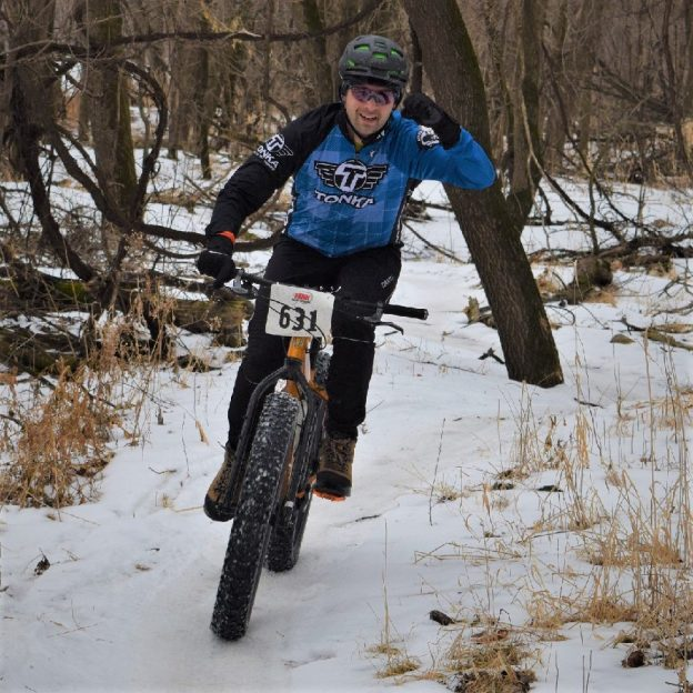 Bike Pic Feb 9, yeah its Friday, enjoy the fun of a fat bike race