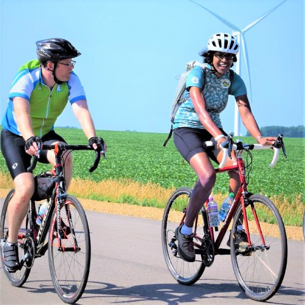 Yeah it's Saturday, time to ride off on another bike adventure like RAGBRAI