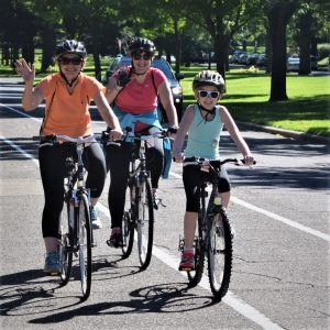 Fond memories riding into the Monday morning sun, along the Mississippi River Trail