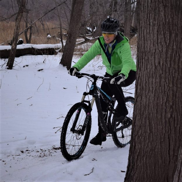 As we plow through the latest April snow, get out and have some fun on the 5th day of 30 Days of Biking.