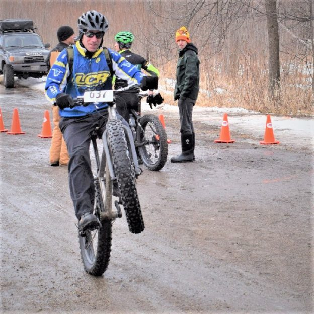 With just few piles of snow along the Minnesota River, this wheelie Wednesday or Hump Day, take a chance on #25 of 30 Days of Biking. If life were a fat bike trail a wheelie could help smooth out your day-to-day ride