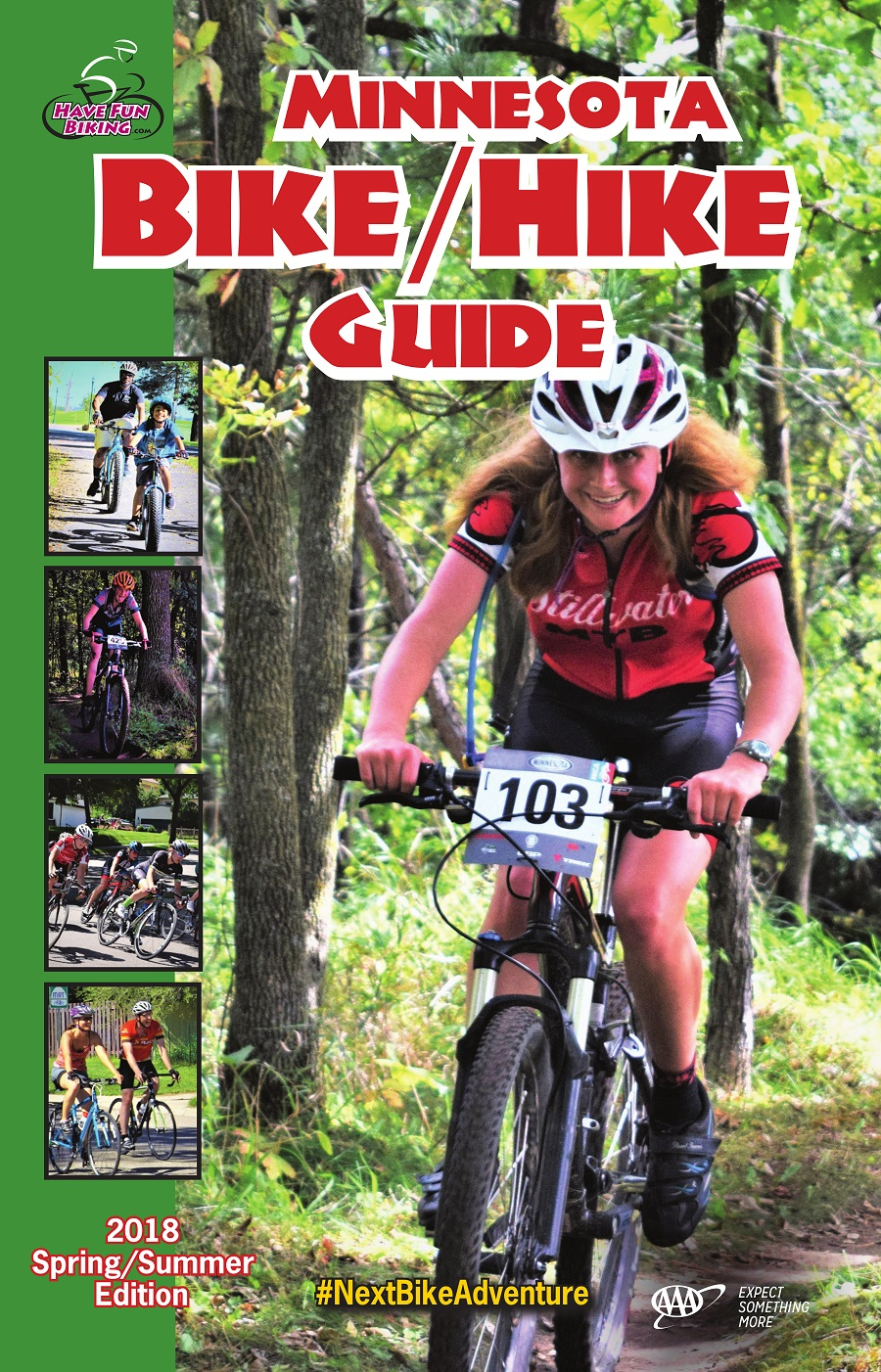 The 2018 Minnesota Bike/Hike Guide is here to help you plan your next bike adventure.