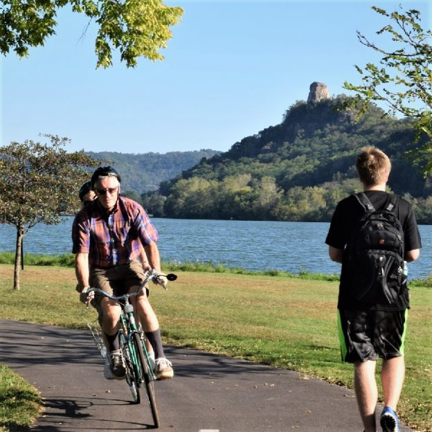 During bike month and any time of the year Winona is a fun place to visit with a bike.