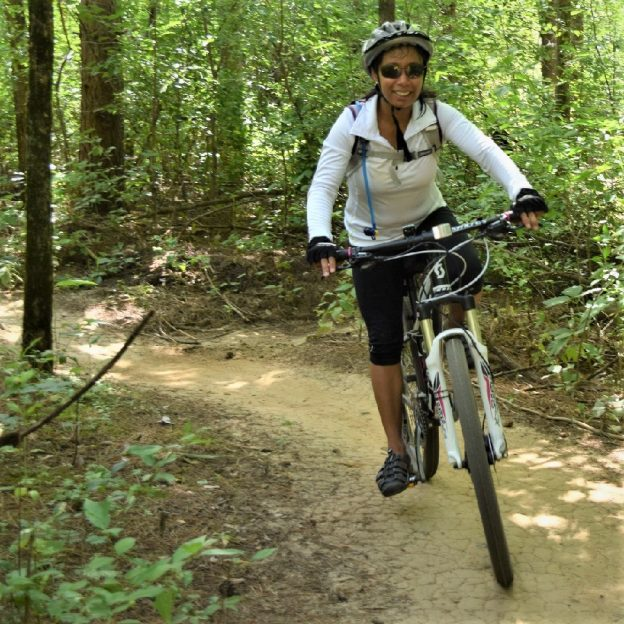 The new Lakeville mountain bike course is fun for the whole family.