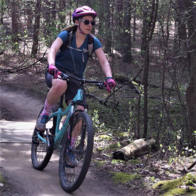 The new Lakeville mountain bike park offers many shaded trails to stay cool. Working closely with the city, the Lakeville Cycling Association has constructed a mountain bike trail system on the west side of Lake Marion.