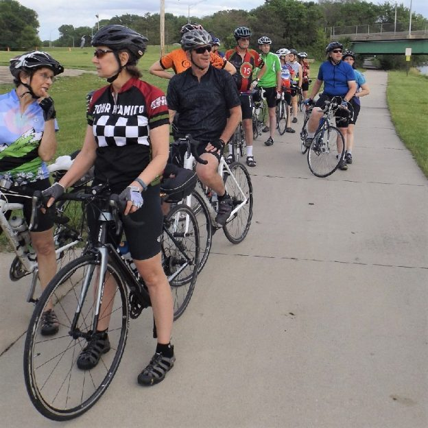 The Cedar Falls area has something for both the seasoned cyclist and novice rider.