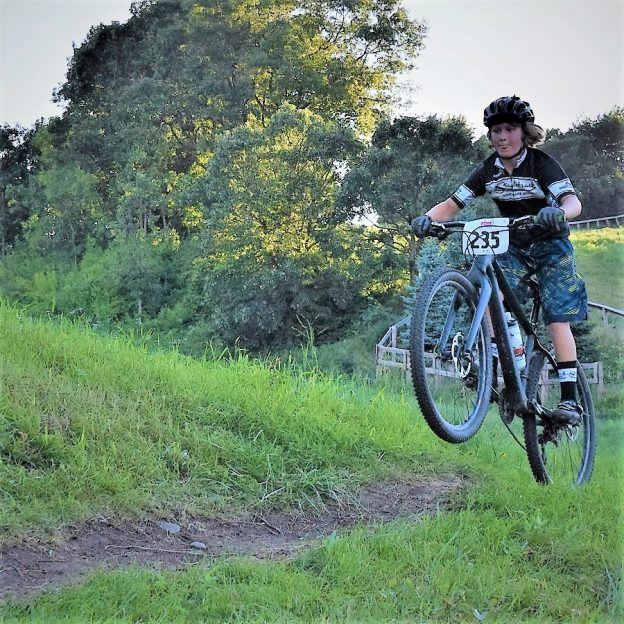 This Wheelie Wednesday, with the kickoff of Penn Cycle's Thursday Night Mountain Bike Races at Buck Hill tomorrow night. Take a chance, if life were a mountain bike trail a wheelie could help smooth out your day-to-day ride.
