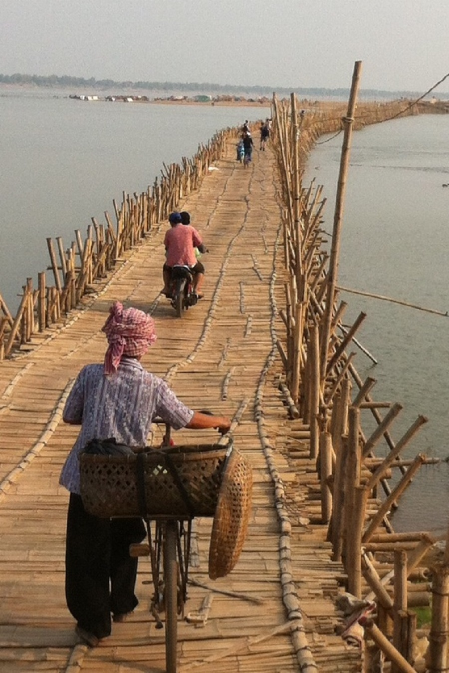 Bamboo bridge from my 2014 bike tour