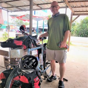 My second Southeast Asian solo bike tour saw me again crossing the border to bicycle Cambodia. After my first trip to Vietnam and Cambodia in 2014, I promised myself a return for an extended tour. Fortune smiled upon me and I returned for a 16-day solo tour.