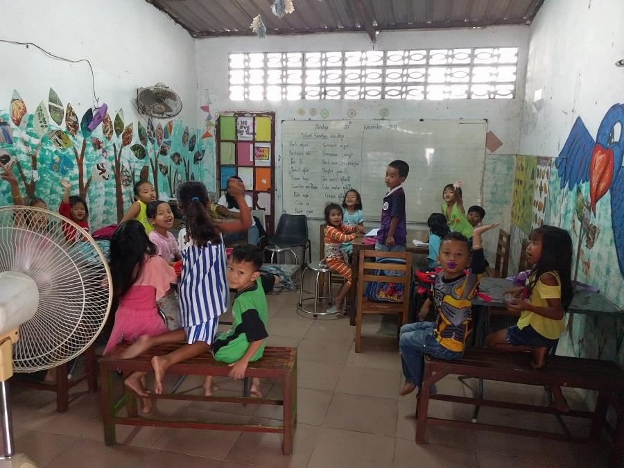 Classroom at Tiny Toones