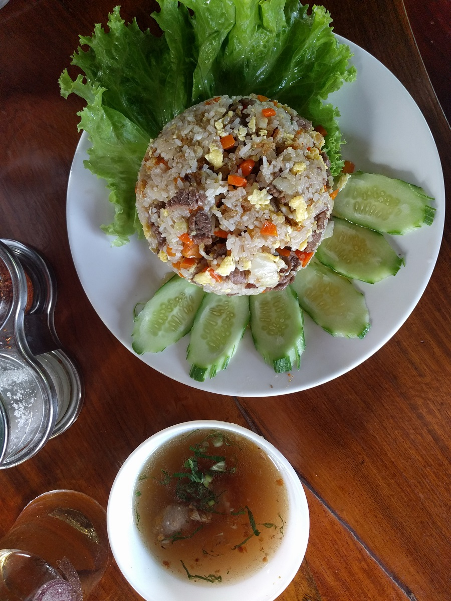 Beautiful presentation & delicious breakfast Cambodia style