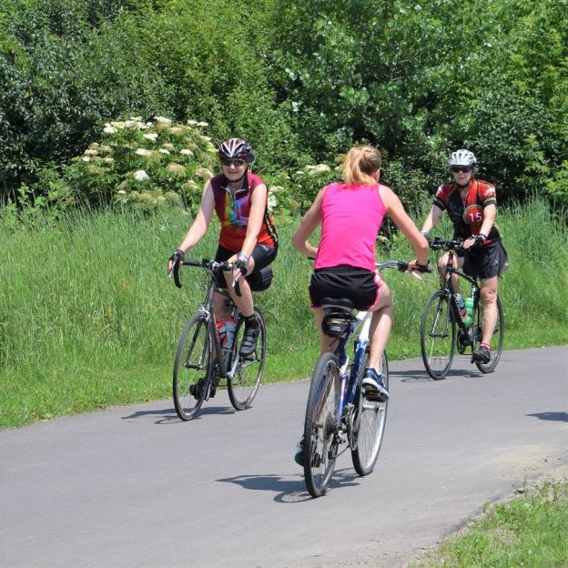 Shoreview offer miles of paved trail to enjoy