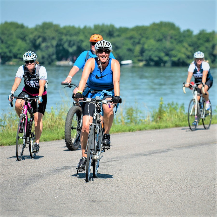 Riders on Chainbreaker 17 to help end cancer.