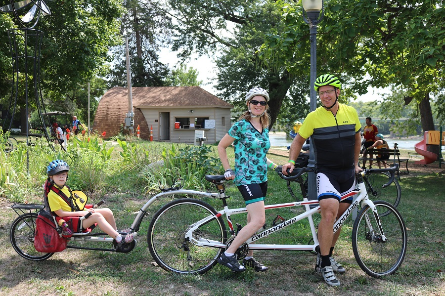 Bike Van Buren is a ride the whole family with enjoy.