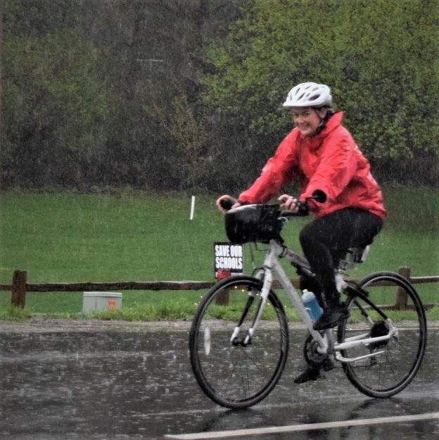 Cycling is one of the healthiest forms of exercise and when you plan properly it can be a great activity year round! Here are some top tips for staying safe when cycling at times when Mother Nature seems to throw a wrench in your plans