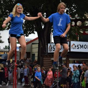 In this bike pic, shot at the Minnesota State Fair, we caught these two unicyclists having fun in the daily parade. Whatnewthing will be on a stickat the 2019 MNFair?