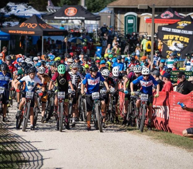 The MN HS League headed to Southern MN for Race 3# of the season. Battling high temps and dusty wind gusts, September 16, mountain bike racers from across the state arrived in Gamehaven to test their skills in the third race of a seven-race series.