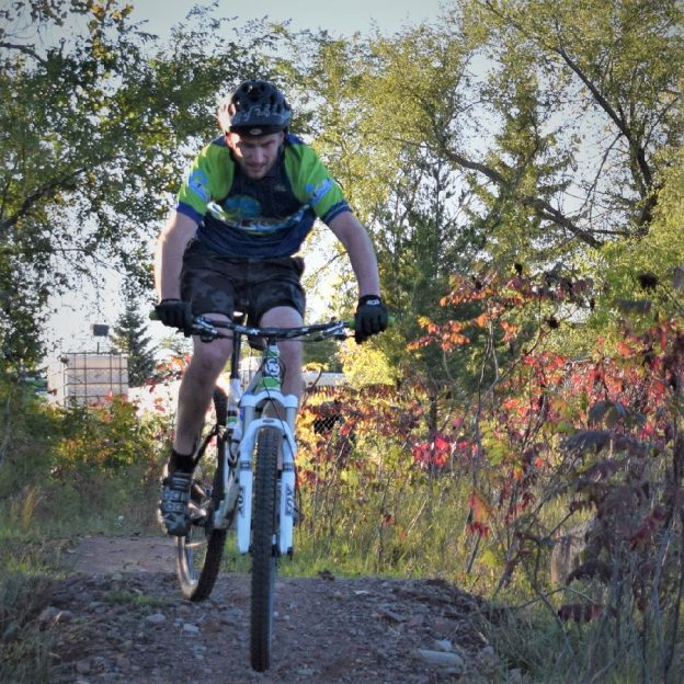 A bike pic to remember! This Wheelie Wednesday photo was taken earlier this fall at the West Lake Marion Mountain Bike Park, in Lakeville, MN.