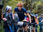 Calvin Sandberg, Prior Lake, Varsity Boys leads the hill climb | Whitetail Ridge 2018 | Photo Credit: tmbimages.com